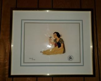 Snow White Serigraph