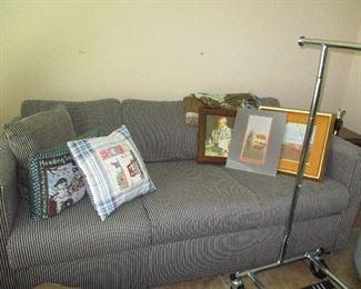 Sleeper sofa additional artwork
