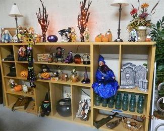 Halloween and fall decor