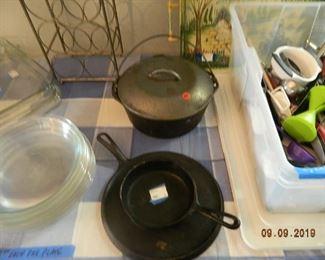 cask iron items
