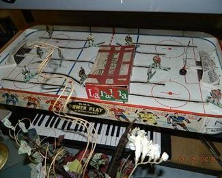 vintage hockey game