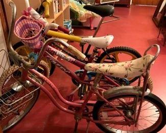 Antique Schwinn Girls Bicycle