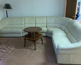 Perfect leather sectional