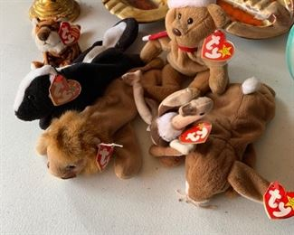 TY Beanie Babies are making a comeback.  These are from a private collection of my friends Christian and Julie....