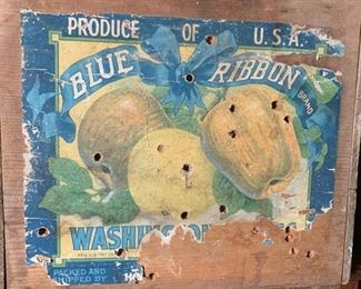 Blue Ribbon Fruitcrate for the Fruitcakes!  : )