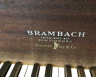 Brambach baby grand for sale