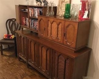 Entertainment center w/bar