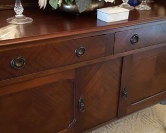 Detail of sideboard/buffet
