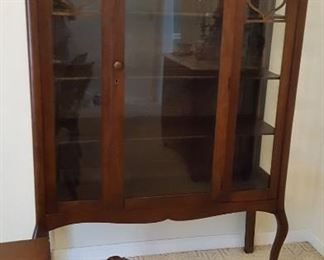 Gorgeous early 1900's china cabinet