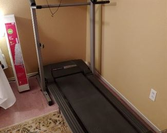 A Pro-Form treadmill