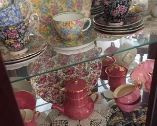 the beginning of the extensive English Chintz collection-mostly Royal Winton
