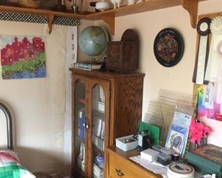 sewing room with milk glass-which has been moved-WEstmorland & more