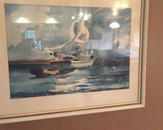Nice marine watercolor