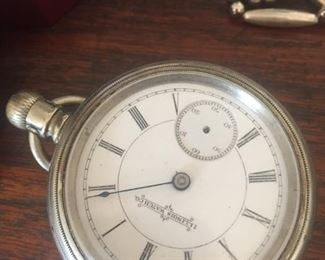coin silver watch not working