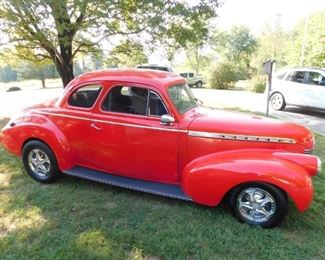 1940 Chevrolet Coupe(350 Motor/ Power Windows/AC/Subject to Confirmation)