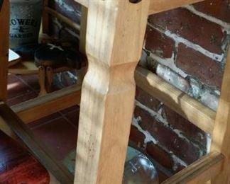 tbs pair farmhouse stools