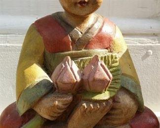 tbs wood lotus bearing child