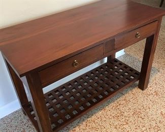 Arts and Crafts style desk.