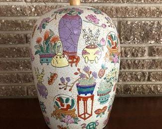 Decorative ceramics.