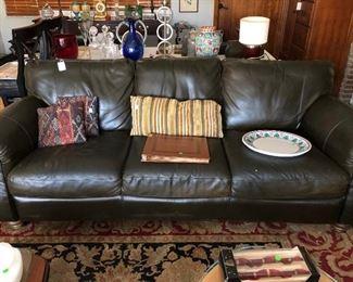 Natuzzi sofa.