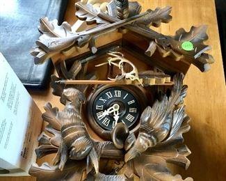 Cuckoo clock from Germany, circa 1964.