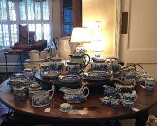 Blue & white galore!!!