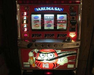 Lighted slot machine