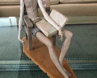 Lladro Don Quixote In Chair