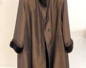 Mink-lined Coat