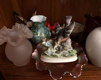 Porcelain & glassware