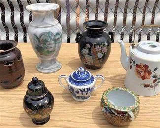 APC013 Oriental Decorative Vases and More