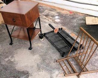 APC026 Japanese Chair, Shelf & Nightstand