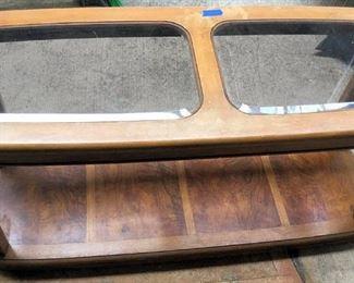 APC031 Wood & Glass Coffee Table