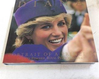 APC033 Princess Diana Hardcover Book