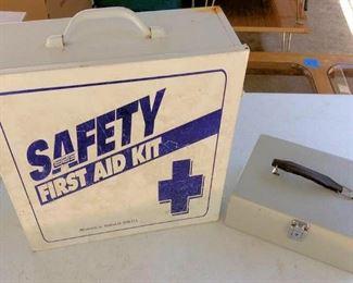 APC037 First Aid Kit & Metal Box