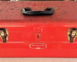APC042 Red Metal Proto Tool Box