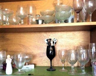 APC058 Glassware, Stemware, Martini Glasses, More