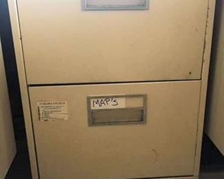 APC070 Metal Two Drawer File Cabinet
