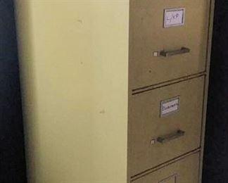 APC075 Five Drawer Metal File Cabinet