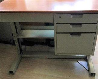 APC080 Four Drawer Metal Desk