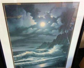 APC114 Ocean Scene Signed Print