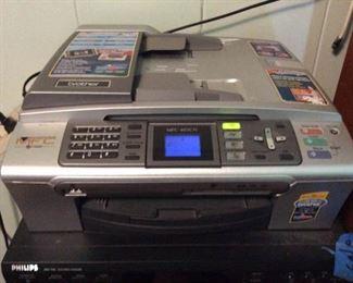 APC134 Brother Color Copier, Printer Fax