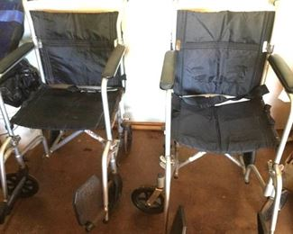 APC146 Two Medical Transport Chairs