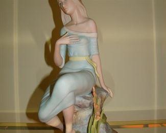 Large porcelain figure