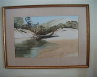 Alice Flint watercolor painting