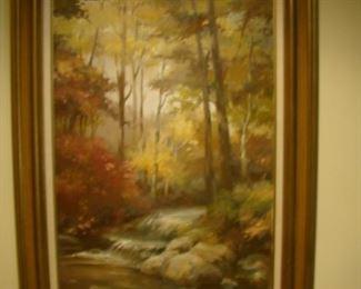 Wilson oil on canvas