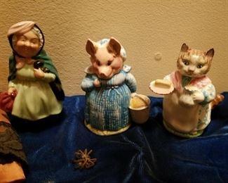 Beeswick figures
