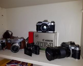 Sample of camera collection