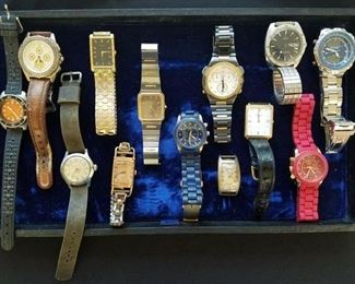 Men's wrist watch collection