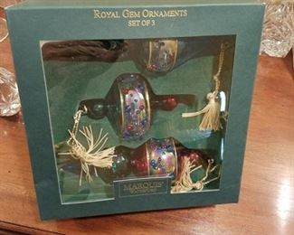 Waterford x-mas ornaments
